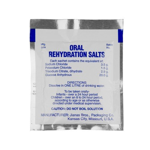 Oral Rehydration Salts, Pack of 125