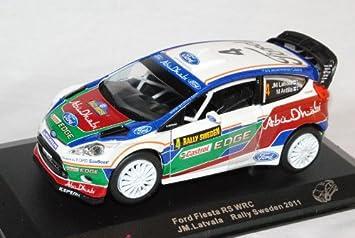 Unbekannt Ford Fiesta Wrc Rally Schweden 2011 Latvala 1 32 Saico Modell Auto Mit Individiuellem Wunschkennzeichen Spielzeug