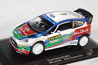 Unbekannt Ford Fiesta WRC Rally Schweden 2011 Latvala 1/32 Saico Modell Auto mit individiuellem Wunschkennzeichen