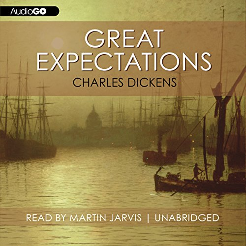 Great Expectations audiobook cover art