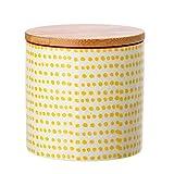Bloomingville Dose Susie mit Aromaverschluss, gelb