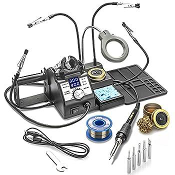 X-Tronic 3060-PRO - 75 Watt Soldering Iron Station  PRO - w/5 Extra Solder Tips