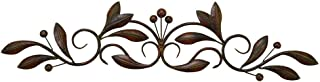 Deco 79 Metal Wall Decor, 30-Inch by 7-Inch