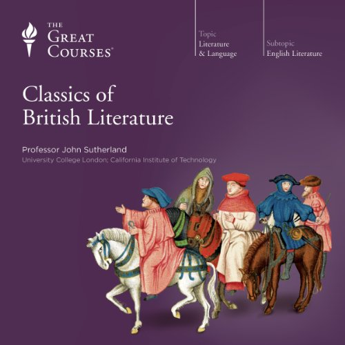 Classics of British Literature audiobook cover art