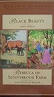 Black Beauty/Rebecca of Sunnybrook Farm (Classic Library Series) 0831766956 Book Cover