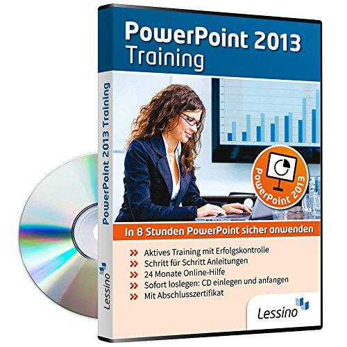 PowerPoint 2013 Training - In 8 Stunden PowerPoint sicher anwenden | Einsteiger und Auffrischer lernen mit diesem Kurs Schritt für Schritt die sichere Anwendung von PowerPoint [1 Nutzer-Lizenz]