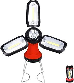 SLKHWYD Lámpara de Camping Portátil Al Aire Libre Luz Recargable Multifuncional Lámpara de Trabajo Lámpara de Inspección de Emergencia Magnética Magnética Flexible Impermeable Herramientas de diagnóstico, test y medidores