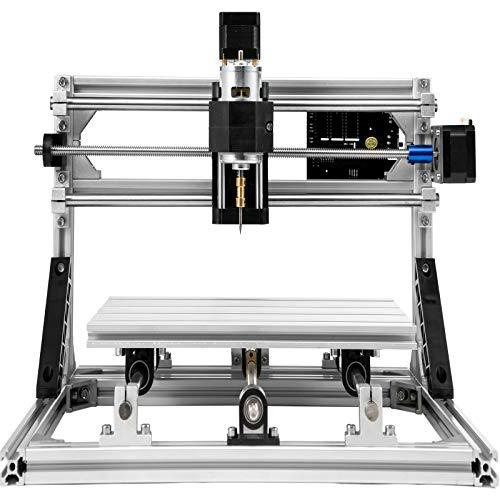 VEVOR 3018 CNC Fräsmaschine 3 Achse Engraving Machine Milling Machine CNC Router Kit DIY Gravurwerkzeug mit Offline Control