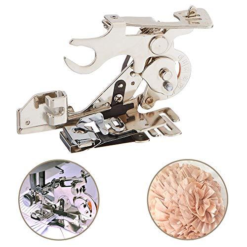 Youngine Ruffler Máquina de coser Prensatelas Recolección de pliegues y volantes Accesorio para cantante de bajo vástago, hermano, Babylock, Viking, Janome, Kenmore