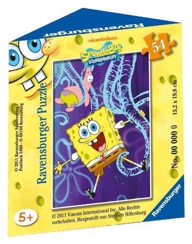 Ravensburger 09461 - SpongeBob 54 Teile Minipuzzle
