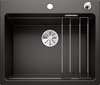 BLANCO 525889 ETAGON 6 Küchenspüle, Schwarz