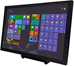 19-inch HDMI VGA Resistive 16:9 Touch Screen POS TFT LED Touchscreen Monitor with Metal POS Stand