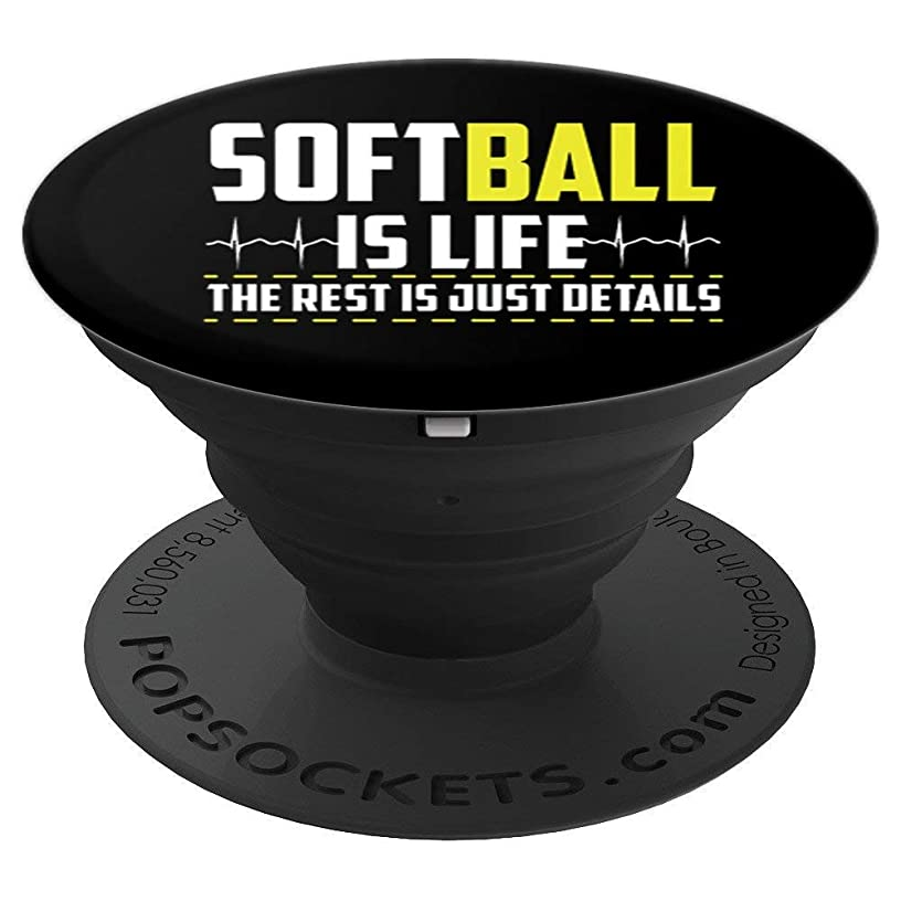 Softball is Life accessory for Baller Teen Girls - PopSockets Grip and Stand for Phones and Tablets