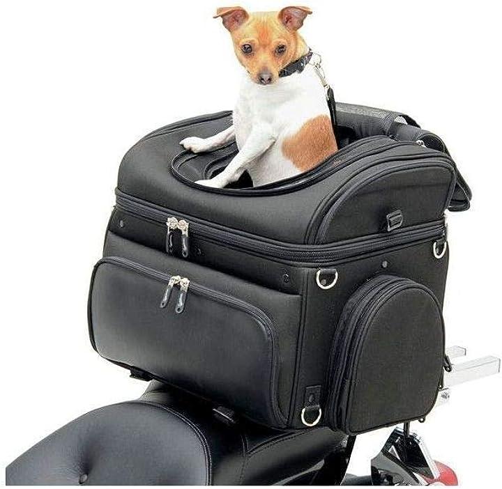 Borsa moto per trasporto cani e animali domestici saddlemen pet voyager 3515-0131