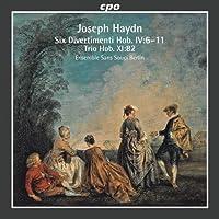 ハイドン:6つのディヴェルティメント (Six Divertimenti Hob IV: 6-11 / Trio Hob. Xi: 82)