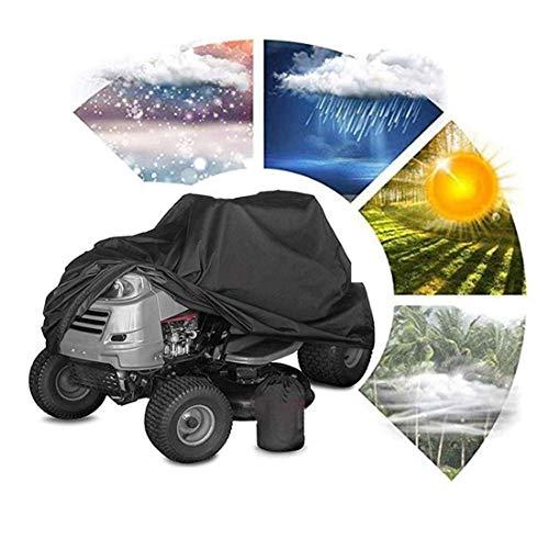 Rasenmäher Cover, Traktor Rasenmäher Abdeckung Heavy Duty Wasserdicht 210D Oxford Garten Werkzeug...