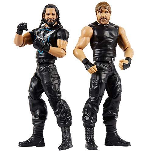 WWE Pack de 2 - Figuras de acción luchadores Henry vs Brown, juguetes niños +6 años (Mattel GBN61)