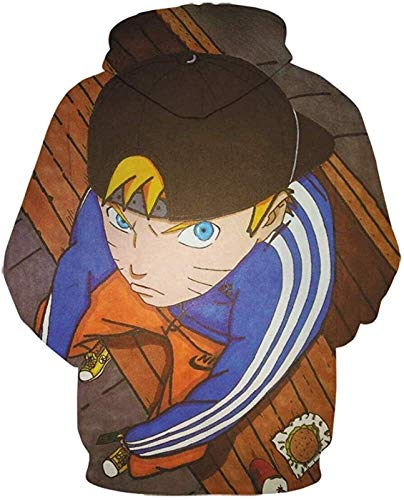 SD-TEC Donner Otaku - Sudadera con capucha y bolsillo para chico tinta china. XXL