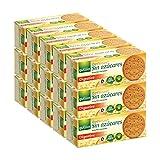 Gullón - Galletas Digestive Diet Nature sin azúcares, 6000 g, Pack de 15