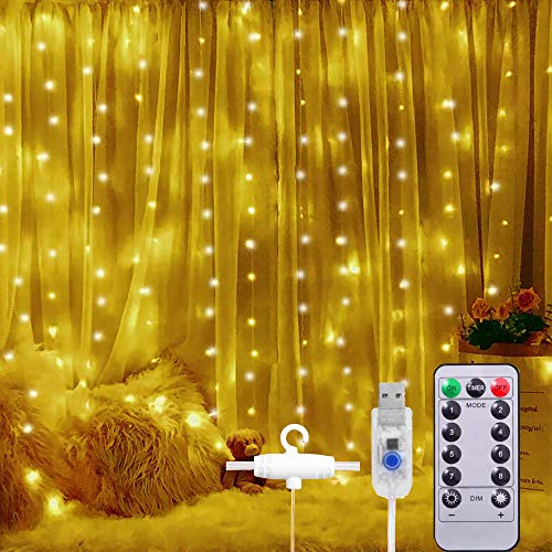 cortina luz led de la marca DQST