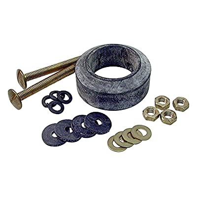 DANCO Durably Constructed Tank to Bowl Toilet Repair Kit for Gerber, 3/8-Inch x 3-1/4-Inch Bolts, 1-Kit (88193)
