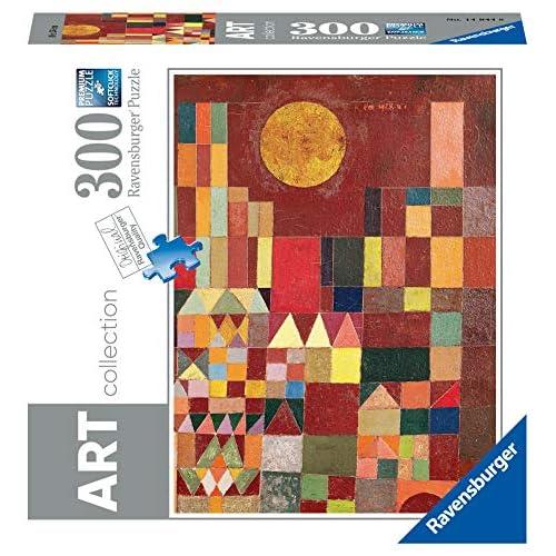 Ravensburger- Paul Klee: Castle And Sun-Arte Puzzle 300 Pezzi, Multicolore, 14844