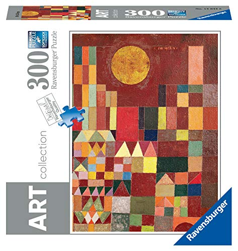 Ravensburger- Paul Klee: Castle And Sun-Arte Puzzle 300 Pezzi, Multicolore, 14844