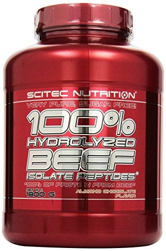 100% Hydro. Beef Peptid. 1800g almond-c.