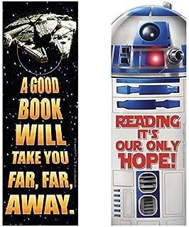 3 Dozen (36) STAR WARS Bookmarks R2D2 Millennium Falcon - Classroom TEACHER Reading Rewards - PARTY Favors MOTIVATION