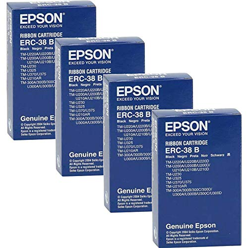 Epson Black Fabric Ribbon TMU TM IT nastro per stampante