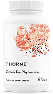Thorne Research - Green Tea Phytosome - Antioxidant, Liver Protective, and Metabolic Benefits of Green Tea Without The Caffeine - 60 Capsules