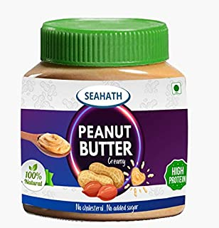 Seahath - Peanut Butter Extra Creamy | 340g | 100% Natural | No Added Sugar | No Hydrogenated Oils | Gluten Free (Pack of 2)