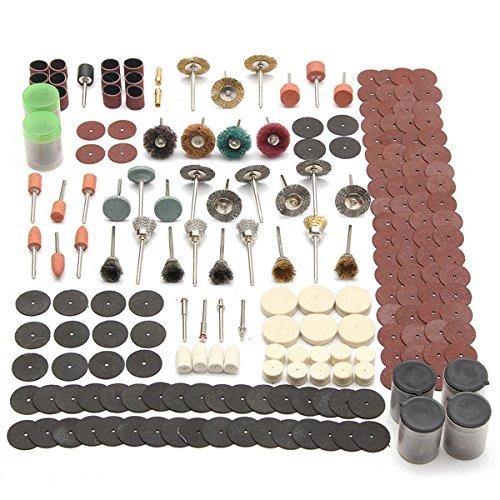 EsportsMJJ 340pcs Rotary Tool Accessoire Set Past voor Dremel slijpen schuurgereedschap