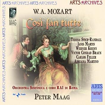 W.A. Mozart: Cosi Fan Tutte
