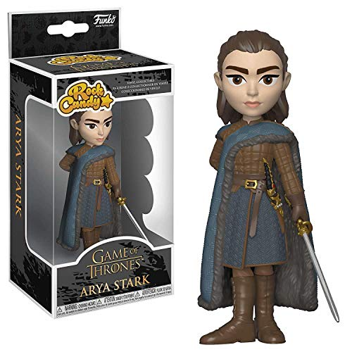 Funko- Rock Candy: Game of Thrones: Arya Stark Collectible Figure, 35554, Multcolour