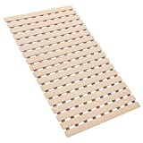 Bligli Non Slip Shower Mat Bath Mat with Rapid Drainage and TPE Resilience Suction Cups...