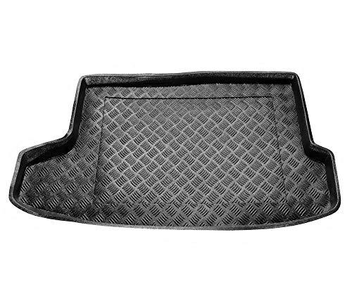 Protector Maletero PVC Compatible con Nissan JUKE con Suelo Alto (desde 2014) + Regalo | Alfombrilla Maletero Coche Accesorios | Ideal para Perro Mascotas