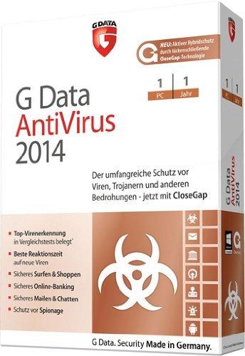 G Data antivirus 2014 (1 PC, 1 Jahr) [import allemand]