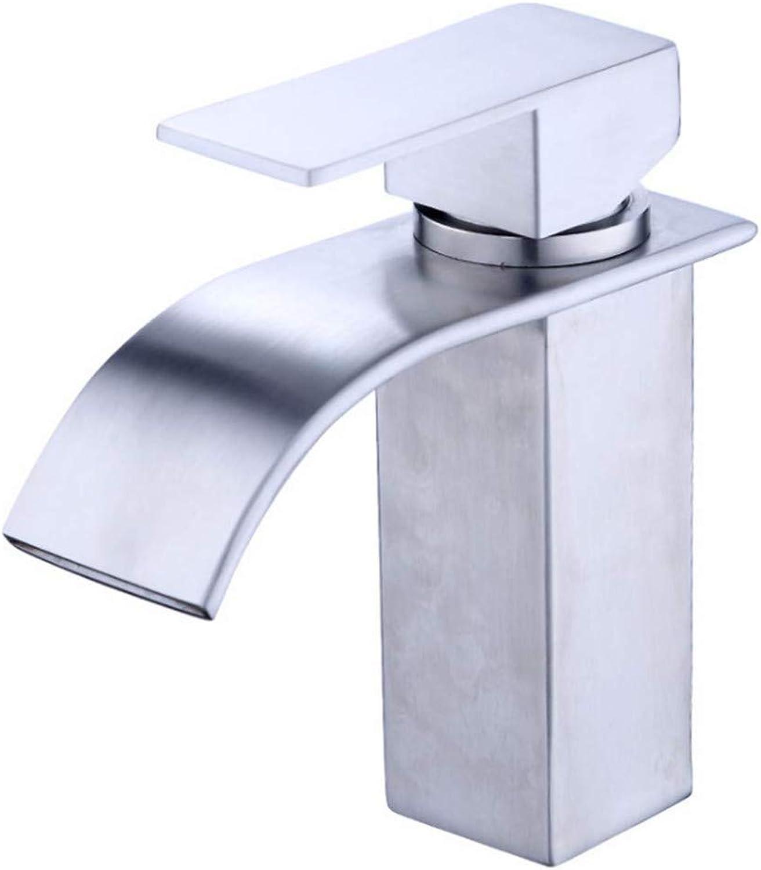 Wasserhahn Counter Drinking Designer Archdrawing Einzelnes Loch Aus Rostfreiem Edelstahlhahn (304) Mit Kaltem Warmwasser-Mischventil