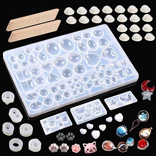 Litthing 10 formas Molde Silicona 20 juegos dedos
