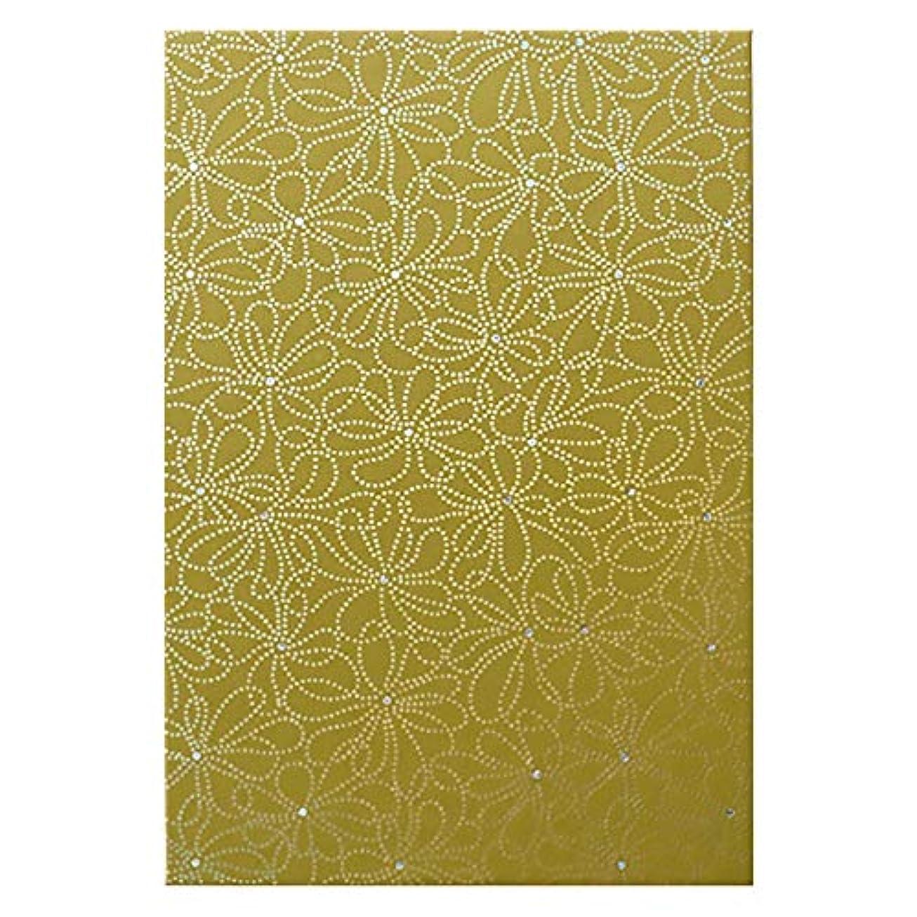 アクセス記念碑的な円周サクライカード 箔ご朱印帳「花つなぎ」 サクライカード HG002