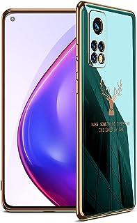 جي كي كي غطاء حماية سلكون طرى لجوال شاومى مى 10 تى / مى 10 تى برو (Xiaomi Mi10T / Mi 10T Pro 5G) - أخضر