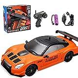 Coche de control remoto, 2.4G 4WD 15KM/H RC Car 1:24 Radio control remoto eléctrico coche carreras control remoto Offroad Buggy juguete regalo para niños y adultos - HB-SC24A02 (Hb-sc24a05)