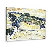 Diego Rivera Landschaft bei Toledo Leinwand-Poster,