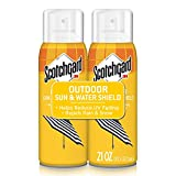 9. Scotchgard Sun and Water Shield, Repels Water, 21 Ounces