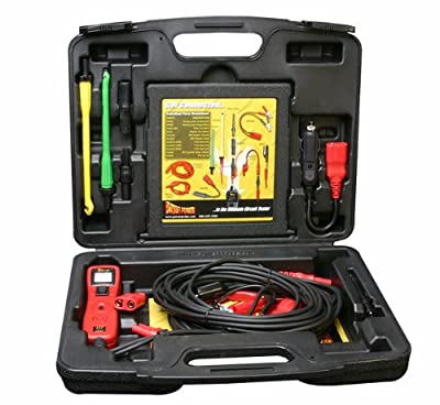Power Probe III Circuit Tester w/Lead Set Kit (PP3LS01) [Car Diagnostic Test Tool, Digital Voltmeter, Supplies Power or Ground, Continuity Tester] by Power Probe