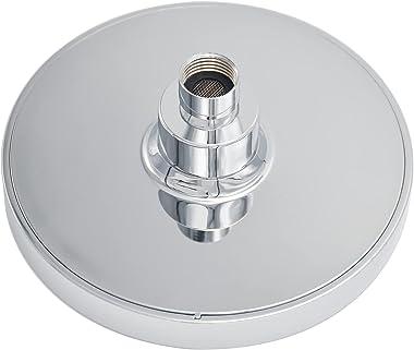 Anlisnut 6 Inch High Pressure Rain Shower Head,Integrally Formed Swivel Ball Joint,360°Adjustable Angles Luxury Fixed Showerh