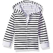 Hanes Ultimate Baby Zippin Knit Hoodie, Black Stripe, 6-12 Months