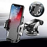 [2020 Upgrade] Auckly Handyhalterung Auto Handyhalter fürs Auto Lüftung & Saugnapf Halterung 3 in 1 Smartphone Halterung KFZ Universal für alle 4-7 Zoll Handys wie iPhone Samsung Huawei