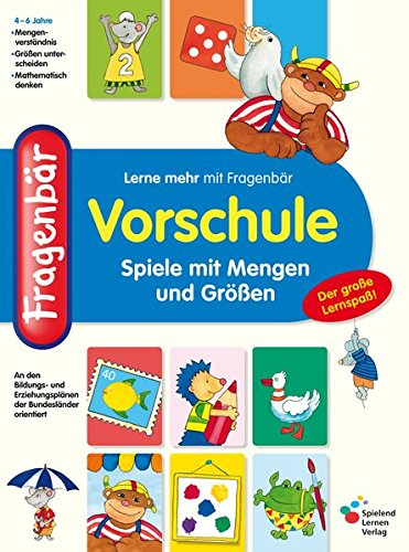 Fragenbär Vorschule: Spiele mit Mengen und Größen (Lerne mehr mit Fragenbär)